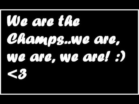 Tekst piosenki Right Said Fred - We Are The Champs po polsku