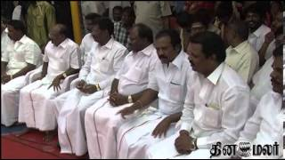 New Plans for Loksabha Elections Says Vijaykanth - Dinamalar Jan 12th 2014 Tamil Video News