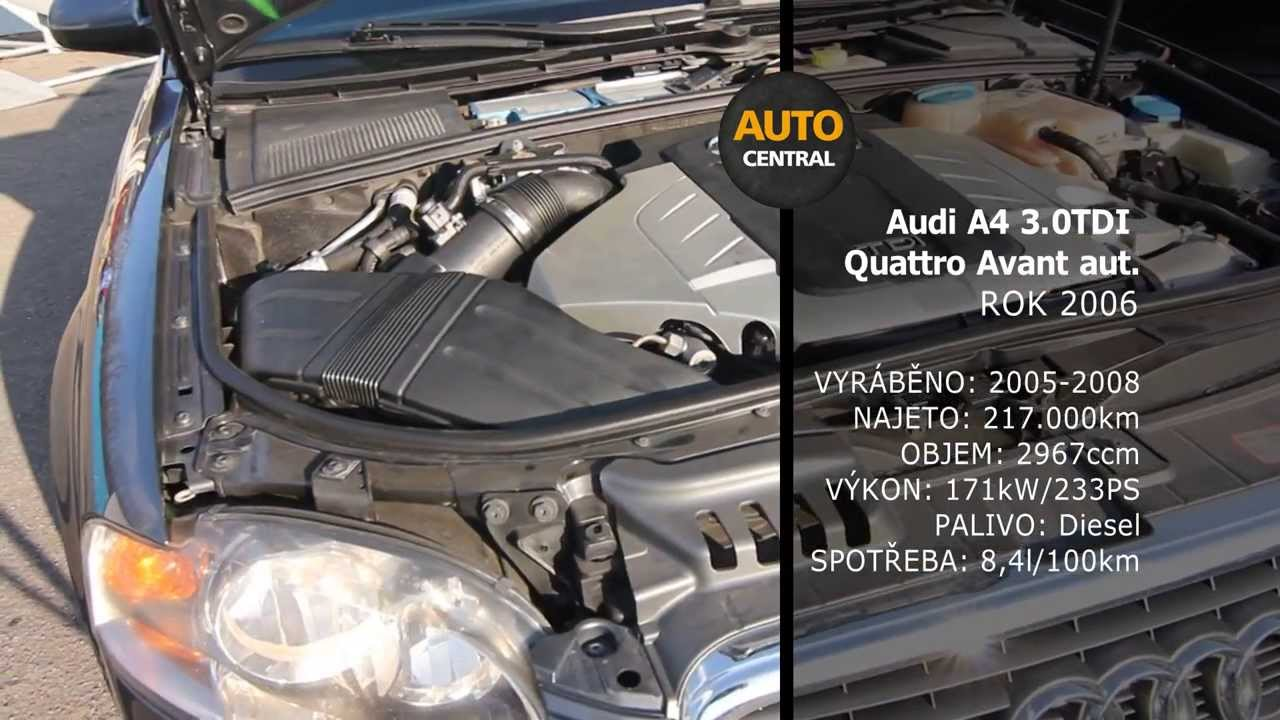 A4 Avant 3.0TDI Quattro automat 171kW rok 2006