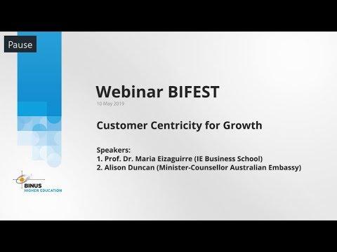 190510 [Webinar] BiFest - Customer Centricity for Growth