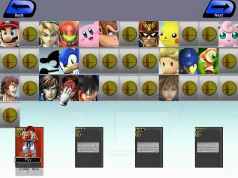 Smash Bros Rumble - Freeware game