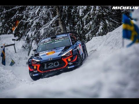 Highlights - 2018 WRC Rally Sweden - Michelin Motorsport