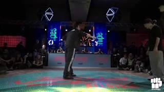 The Bridge (Mike & Emjay) vs Shaolin Storm (Popping Danys & Popping Idea) – Juste Debout Belgium 2018 Popping Semi Final