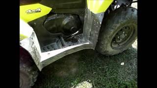 9. 2011 Suzuki Kingquad 400