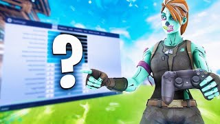 The BEST settings for controller users.... (Fortnite BR)