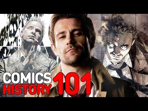 Comics - As he heads to NBC with his own TV series, here's everything you need to know about the Hellblazer -- DC Comics' occult detective and magician, John Constantine!
