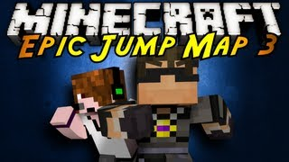 Minecraft: Epic Jump Map 3 Part 2!