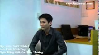 Cảm Nhận Của Học Viên VAK Khóa 2- Anh Trần Minh Duy
