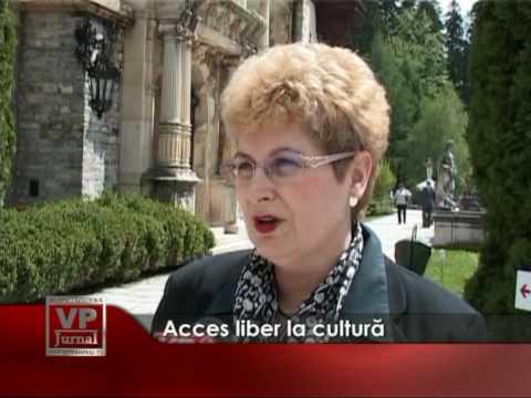 Acces liber la cultură