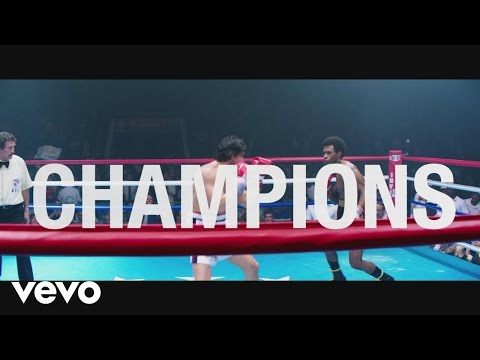 """Usher, Rubén Blades - Champions (from the Motion Picture """"Hands Of Stone"""")[Lyric Video]"""