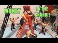 GTS WRESTLING: Money in the Bank! WWE figure matches animation! Mattel Elites ladder match!