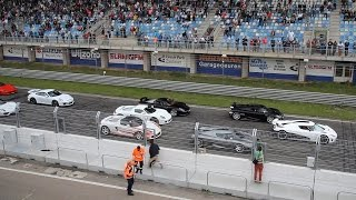 Subscribe NOW to Autospotter15: http://full.sc/11XgwmMToday I went to Supercar Sunday at the circuit in Zandvoort, the Netherlands. Here I recorded the best line-up of cars I have ever seen! In this video, you will see and hear some of the greatest hypercars of all time, like 3x Koenigsegg, 3x Porsche Carrera GT, 918 Spyder and a Ferrari F40. Which car is your favourite? Please share your opinion in the comments below. I hope you enjoyed watching this video. All feedback on my videos is appreciated. Feel free to like this video, leave a comment, subscribe to my channel and share this video with others! Thanks for watching!JoostGet more Autospotter15:Facebook: https://www.facebook.com/autospotter15