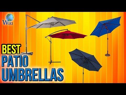 10 Best Patio Umbrellas 2017