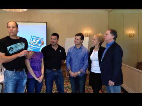 Evan Klassen together with his upline partners the Top 3 Income Earners of Nerium