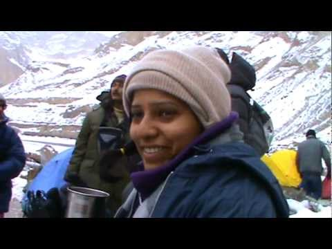 Chadar Trek: A typical morning on the Chadar Frozen River Trek