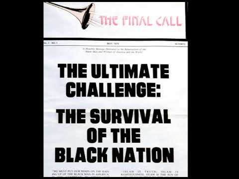 """The Ultimate Challenge: The Survival Of The Black Nation""  November 19, 1978"
