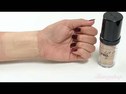 LA Girl LA Girl Pro Coverage HD Liquid Foundation Fair