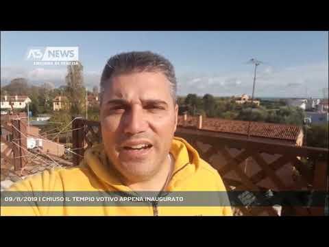09/11/2019 | CHIUSO IL TEMPIO VOTIVO APPENA INAUGURATO