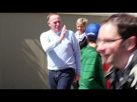 election - New Zealand's Prime Minister John Key said he was