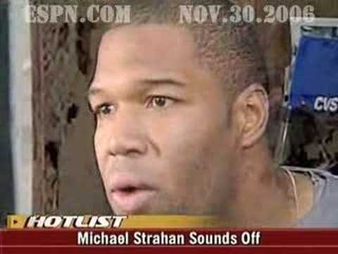 Giants' Strahan Sounds Off