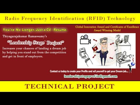 Leadership Stage (E to DE) System Project –  Radio Frequency Identification (RFID) Technology