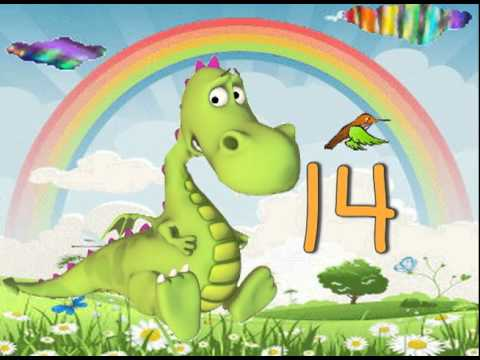 Zählen Song 10-stellig (Kindergarten und frühen elementaren Mathematik Song) with lyrics