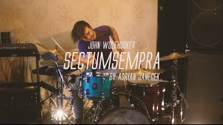 Video John Wolfhooker - Sectumsempra - (Adrian Janecek Drum Playthroug