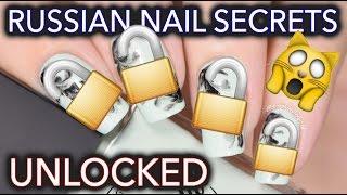 Video Russian nail art secrets UNLOCKED - No-water watermarble! MP3, 3GP, MP4, WEBM, AVI, FLV Februari 2018