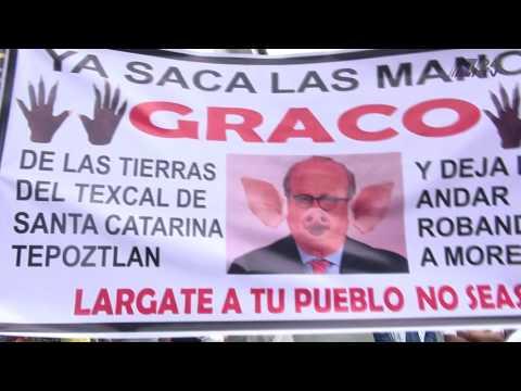 """""""Fuera Graco"""", exigen ciudadanos"""