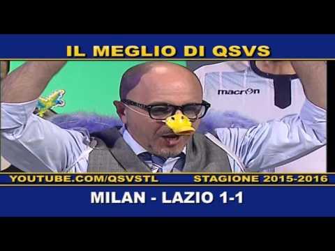 qsvs - i gol di milan - lazio 1 a 1
