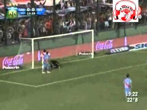 Gol de Jonatan Maidana contra el Arsenal de Sarandí
