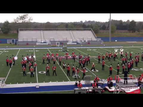 Annandale High School Marching Atoms at 2013 State Assessments