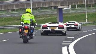 Video Dutch Cop Hates Lamborghini Murcielago LP640 w/ Straight Pipes Fi Exhaust MP3, 3GP, MP4, WEBM, AVI, FLV September 2018