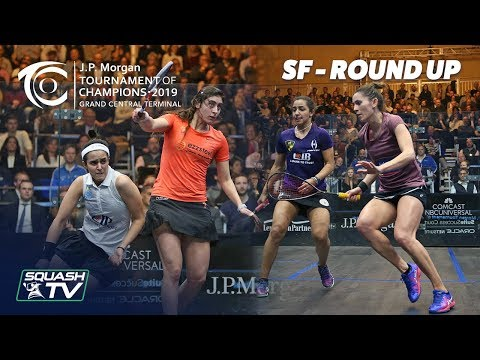 Squash: Tournament of Champions 2019 - Women's SF Roundup