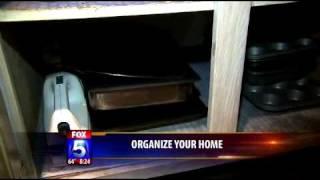 Professional Organizer Kathi Burns on Fox 5 News Kitchen Organizing (Part 3 of 3)