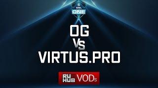 OG vs Virtus.pro, ESL One Genting Quals, game 2 [NS, 4ce]