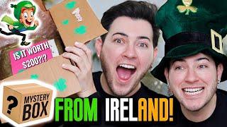 I PAID a FAN $200 TO MAKE ME A MAKEUP MYSTERY BOX... Ireland Edition! by Manny Mua