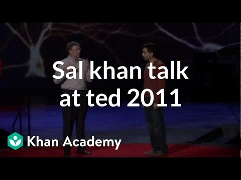 khanacademy - Learn more: http://www.khanacademy.org/video?v=gM95HHI4gLk Salman Khan talk at TED 2011 (from ted.com)
