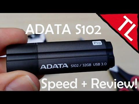 AData DashDrive Elite S102 Pro 32GB: Data Speed Test + Mini Review