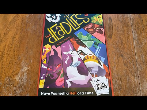 The Deadlies Card Game Review