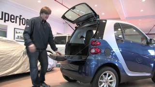Smart ForTwo Passion Coupe--D&M Motorsports Video Test Drive 2012 Chris Moran