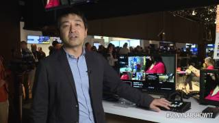 Takuro Ema, Product Manager, guides us through MCX-500 and RM-30BP switchers at NAB 2017.
