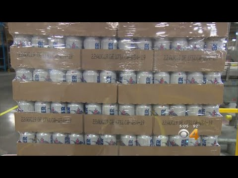 Fort Collins' Anheuser-Busch Cans Water Regularly Ahead Of Disasters