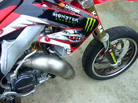 Honda CR 125 Motard -- IN VENDITA-- FOR SALE (IT - CH)