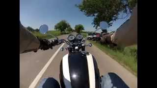 9. Riding with my 2011 Triumph