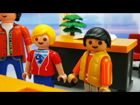 Playmobil Movie | THE NEW CLASS - Ghostbusters Internship Ends  | Marvin & Jonah