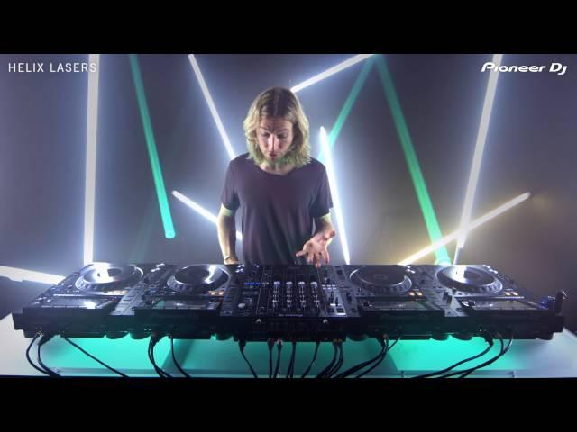 James Zabiela NXS2 Tricks - Helix Lasers