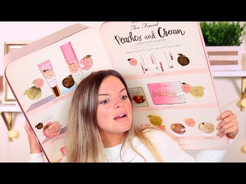 NEW* TOO FACED PEACHES AND CREAM COLLECTION! FIRST IMPRESSIONS / HITS & MISSES | Casey Holmes
