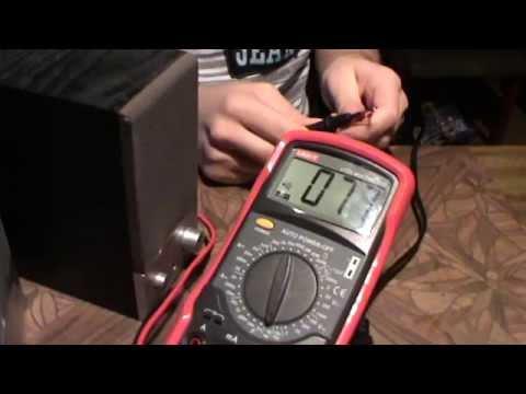 Ремонт колонoк Edifer R18 (видео)