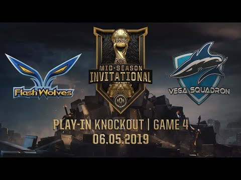FW vs VEG [MSI 2019][06.05.2019][Play-in Knockout][Game 4] - Thời lượng: 58:29.
